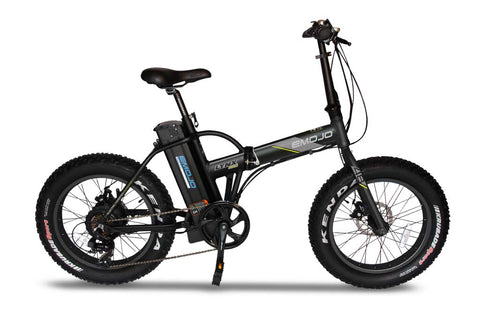 "EMOJO Lynx PRO 48V 500W 20"" Fat Tire Folding Electric Bike - Electric Bike Zone"