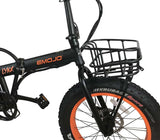 EMOJO Metal Front Bike Basket Accessory Lynx Wildcat