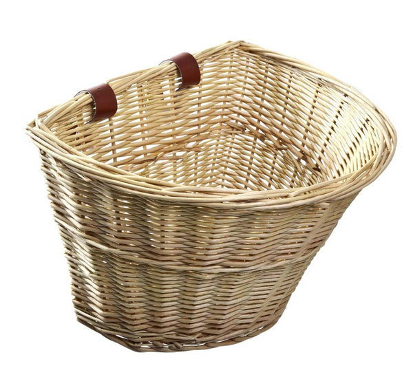 EMOJO Woven Bike Basket Accessory Back