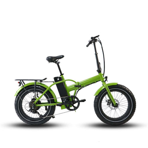 EUNORAU E-FAT Step-Over - 500W Folding Fat Tire Electric Bike