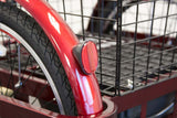 EWheels EW 29 Electric Tricycle brake light basket