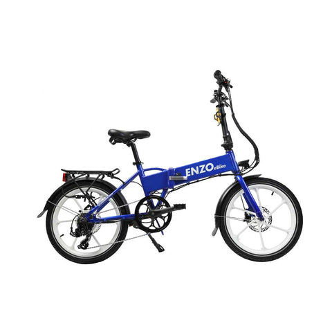 Enzo eBike Folding Electric Bike - Electric Bike Zone