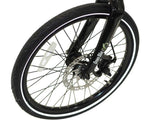 Green Bike USA Carbon Lightweight Electric Bike wheel
