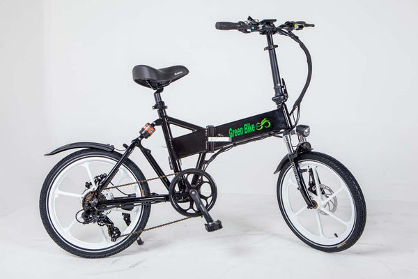 Green Bike USA GB Smart Black White Electric Bike