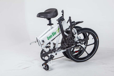 Green Bike USA GB Smart Holding Folded Electric Bike