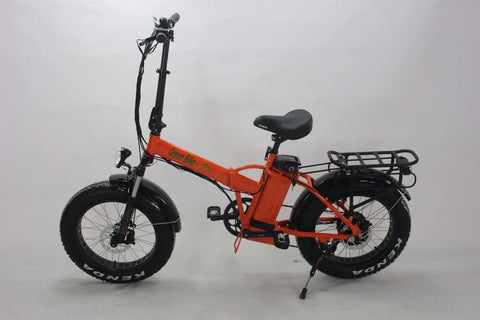 Green Bike USA GB1 Fat Tire Folding Electric Bike - Electric Commuter Bike - Electric Bike Zone