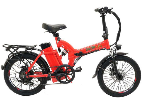 Green Bike USA GB5 Folding Electric Bike - Electric Commuter Bike - Electric Bike Zone