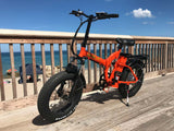 Green Bike USA GB500 Fat Tire Folding Electric Bike Boardwalk