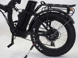 Green Bike USA GB500 Fat Tire Folding Electric Bike rear