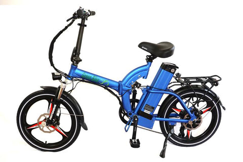 Green Bike USA GB500 MAG - Folding Electric Bike with Magnesium Wheels