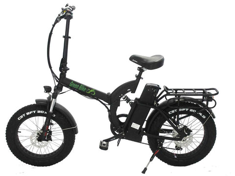 Green Bike USA GB750 Fat Tire - Folding Electric Bike - Electric Bike Zone
