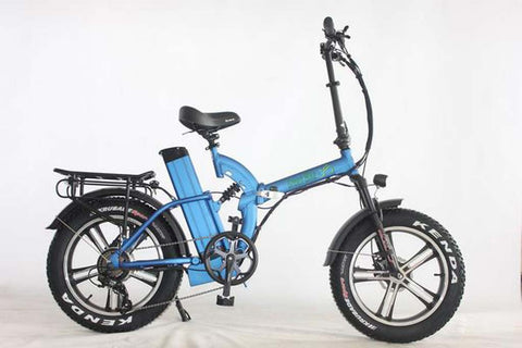 Green Bike USA GB750 MAG Fat Tire - Folding Electric Bike