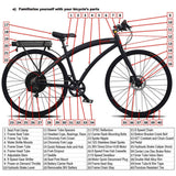 ProdecoTech Phantom 400 Electric Bike Diagram