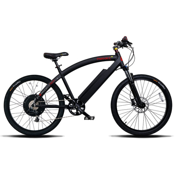 ProdecoTech Phantom X R 400 Electric Bike Black