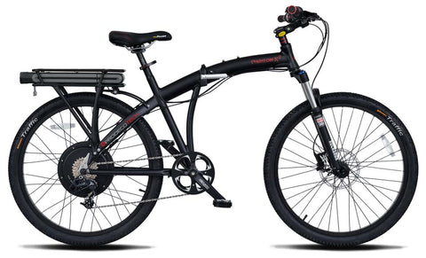 ProdecoTech Phantom Folding X2 400 Electric Bike - Electric Bike Zone
