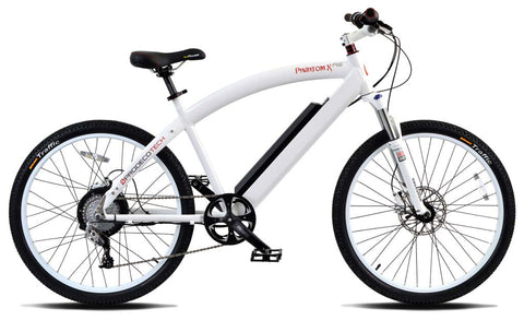 ProdecoTech Phantom X RS 600 DT v5 - Geared Motor Electric Bike - Electric Bike Zone