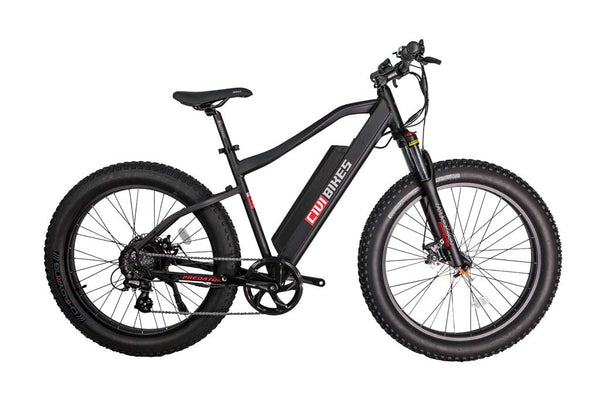 Revi Bikes Civi Bikes Predator Electric Mountain Bike Matte Black