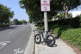Revi Bikes Civi Bikes Predator Electric Mountain Bike Platinum street