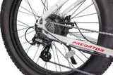 Revi Bikes Civi Bikes Predator Electric Mountain Bike gears