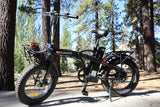 Revi Bikes Civi Bikes Rebel Folding Electric Bike outdoors