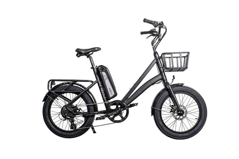 Revi Bikes (Civi Bikes) Runabout - 500W Step-Through City Cruiser Electric Cargo Bike