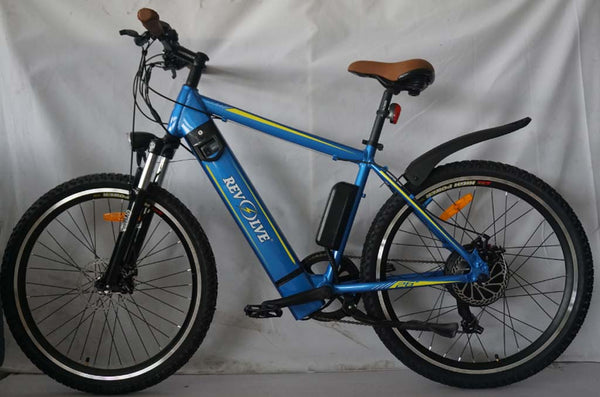 Revolve Electric Bikes Stealth II Blue