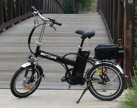 Revolve Handy Dandy - 350W Folding Electric Bike - Electric Bike Zone
