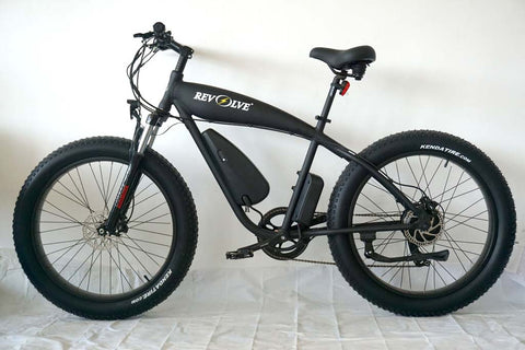 Revolve Rough Rider - 500W Fat Tire Electric Bike - Electric Bike Zone