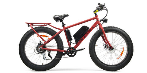 SSR Motorsports Sand Viper - 350W or 500W Electric Fat Tire Mountain Bike - Electric Bike Zone