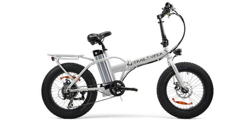 SSR Motorsports Trail Viper - 350W or 500W Folding Fat Tire Electric Bike - Electric Bike Zone