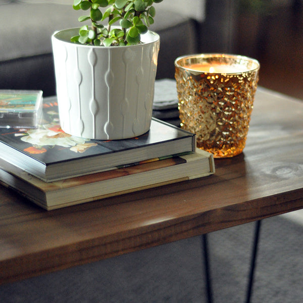 DIY Hairpin Leg Coffee Table Tutorial - Jaymee Srp