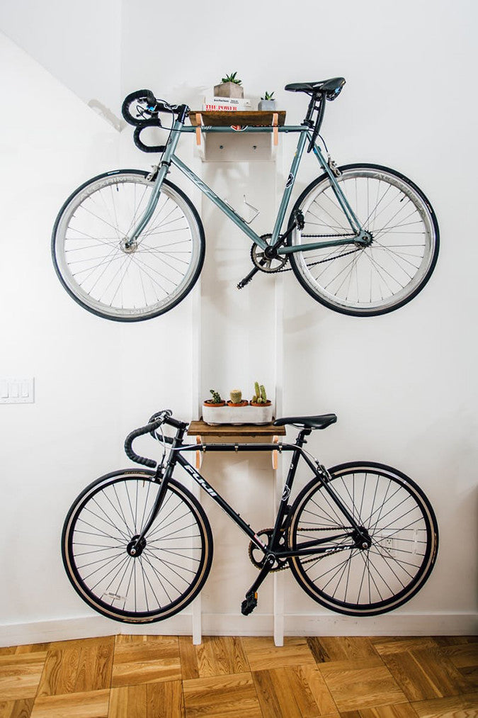 DIY Bicycle Rack by Apartment Therapy