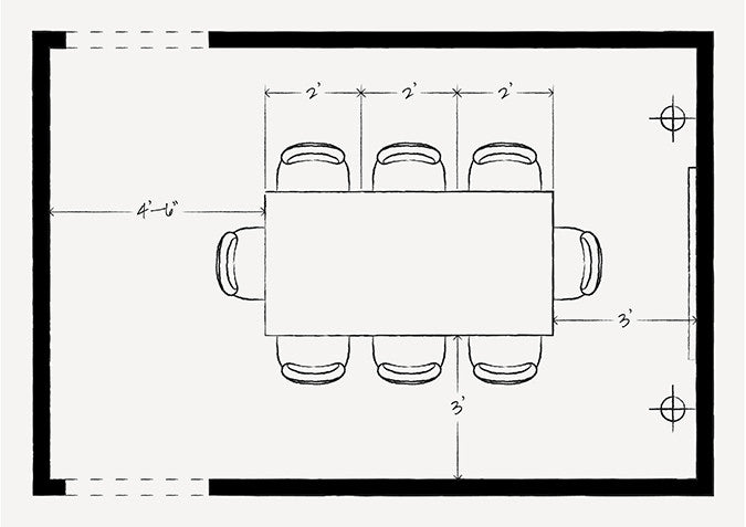 Furniture Layout Dimensions To Remember Part 93