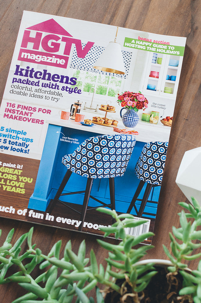 HGTV Magazine Feature - Jaymee Srp