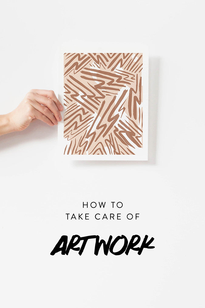 How To Take Care of Artwork