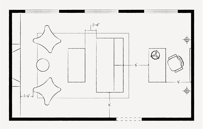 Exceptionnel Furniture Layout Dimensions To Remember