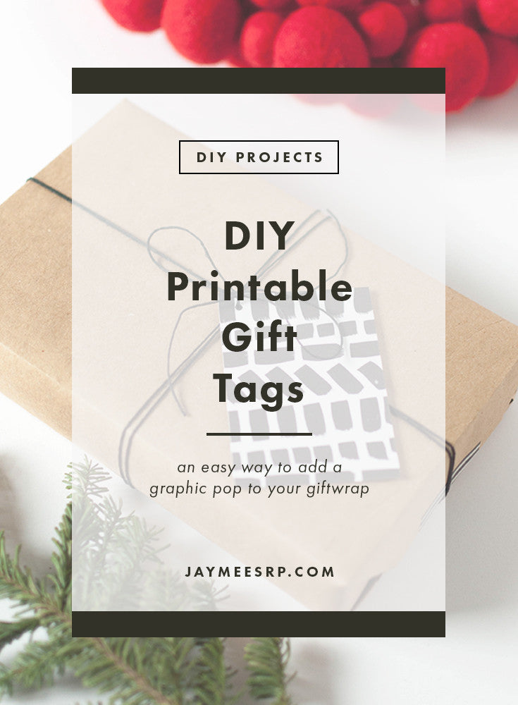 DIY Printable Gift Tags