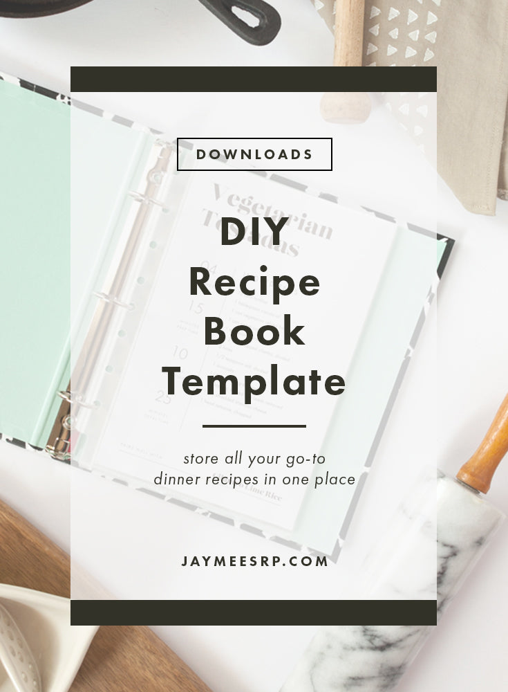 simple diy recipe book jaymee srp