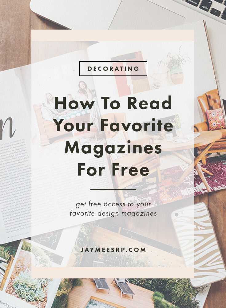 How To Read Your Favorite Design Magazines For Free