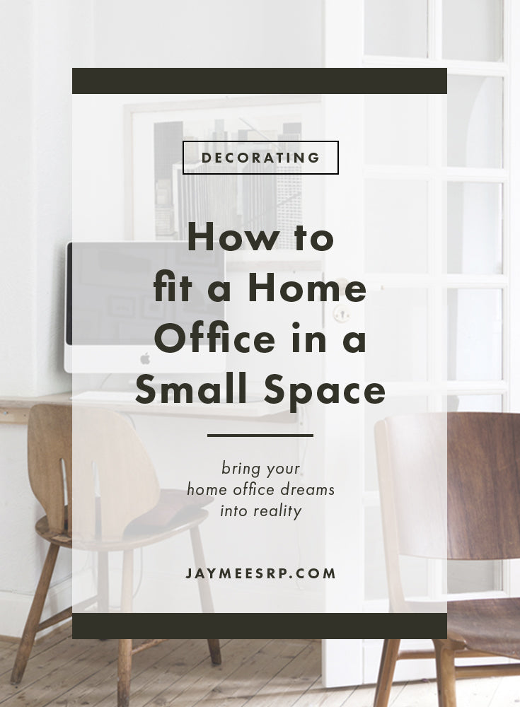 How to fit a Home Office in a Small Space