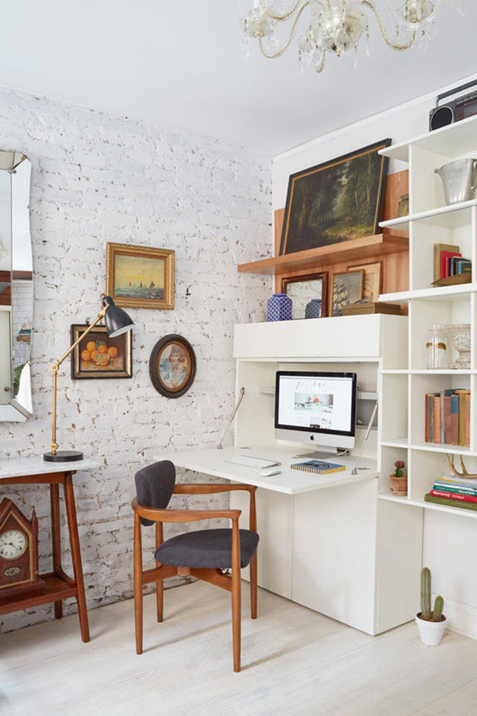 If You Are On The Hunt For A Creative Answer To Your Small Space Problems Give One Of These Clever Solutions Try Secretary Desk