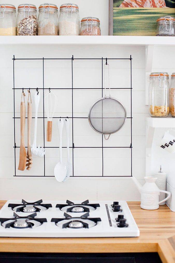Small Rental Kitchen Organization