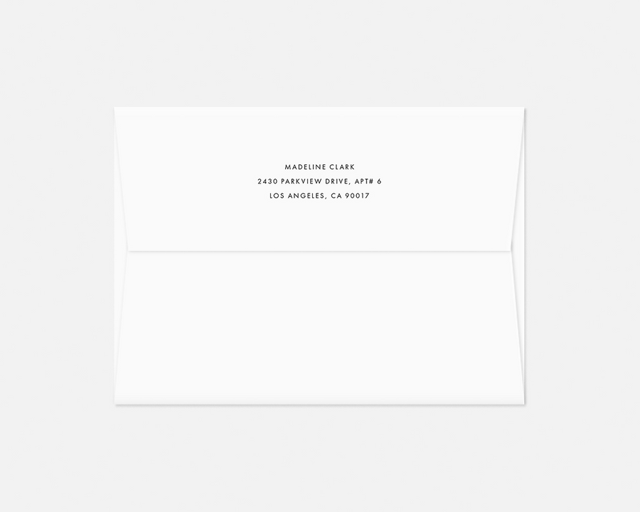 Hatch Invitation - Black