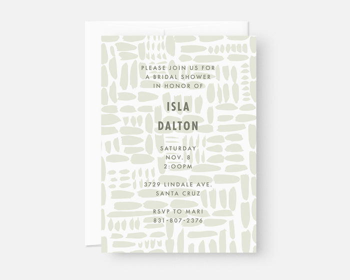 Gridlock Invitation - Green