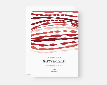 Ripple Holiday Card - Red