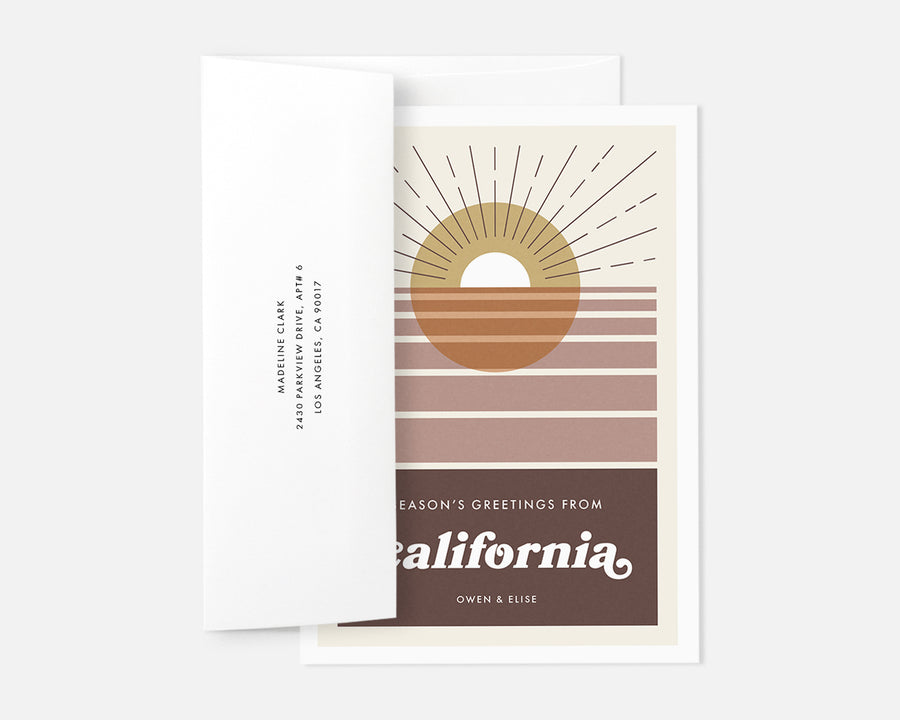 California Holiday Card