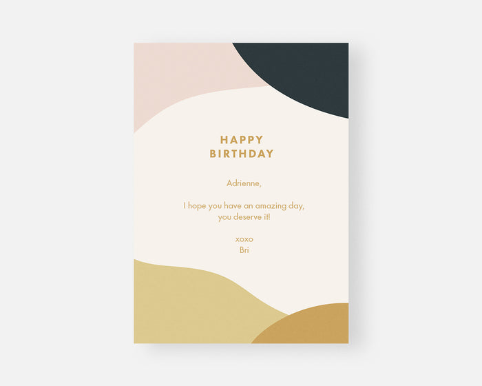Paperless Post Birthday Card