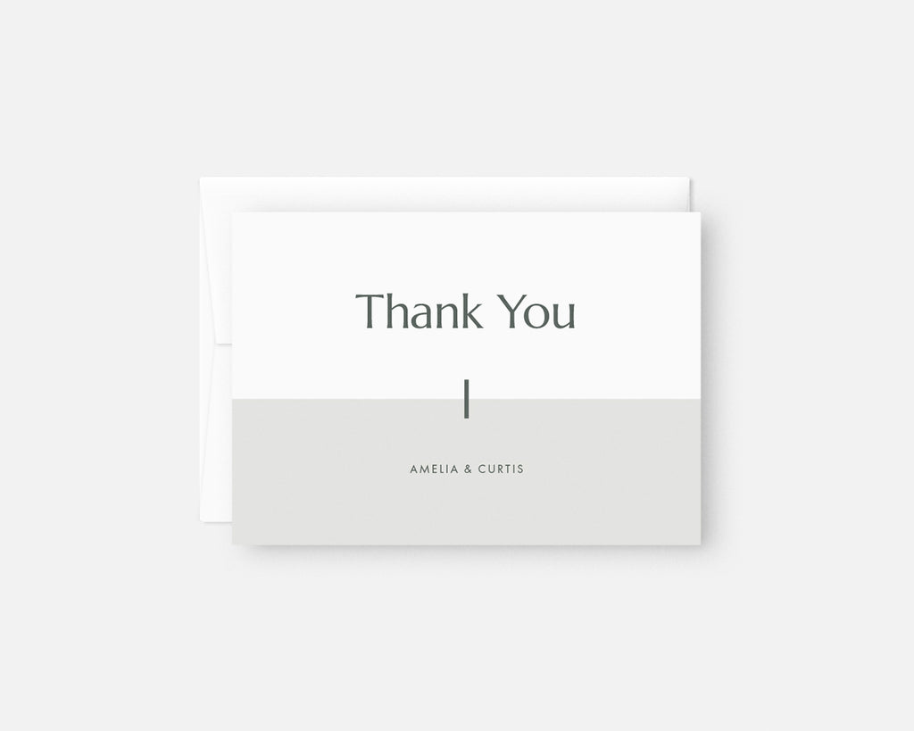 Minimalist Thank You Notes Modern Thank You Card Set Jaymee Srp