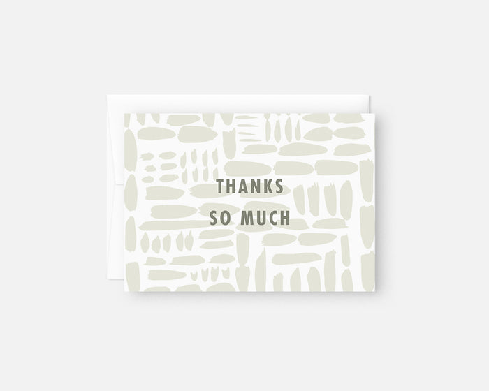 Gridlock Thank You Notes - Green