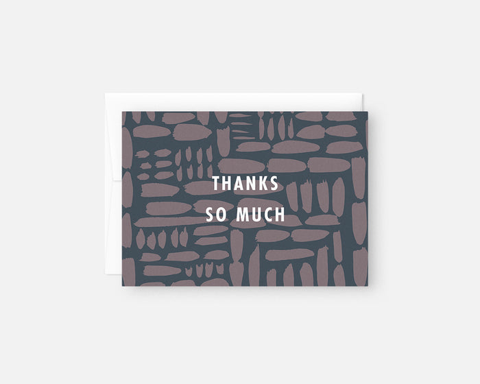 Gridlock Thank You Notes - Purple